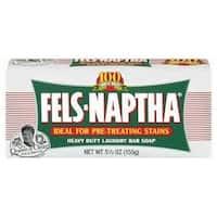 Fels-Naptha 04303 Laundry Soap, 5.5 Oz