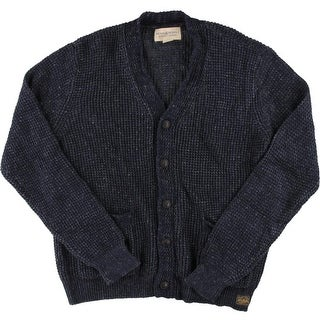 Denim & Supply Ralph Lauren Mens Knit Button Front Cardigan Sweater - L