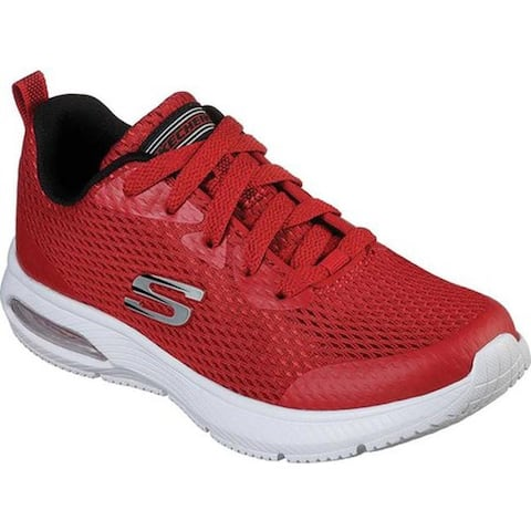 Skechers Boys' Dyna-Air Quick Pulse Sneaker Red