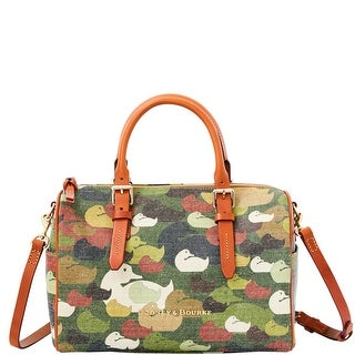 Dooney & Bourke Camouflage Duck Olivia (Introduced by Dooney & Bourke at $328 in May 2015) - Green