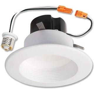 Halo RL460WH930 LED Recessed Retrofit Light With Baffle Trim
