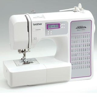 Brother Cs8800prw Limited Edition Project Runway 80 Stitch Computerized Sewing Machine