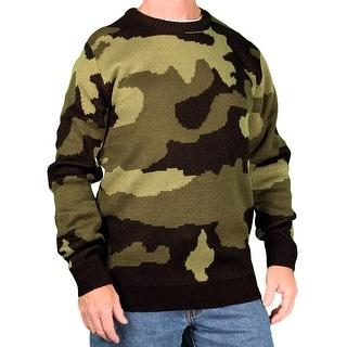Blacksmith Men's Camouflage Crew Sweater