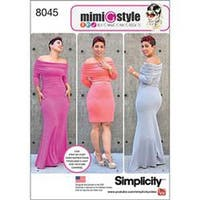 20W-28W - Simplicity Miss And Plus Size Knit Dress From Mimi G Style