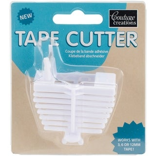 White - Couture Creations Tape Cutter