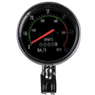 Image Bike Computer Bicycle Speedometer Odometer Bike Speed Gauge Multi Function
