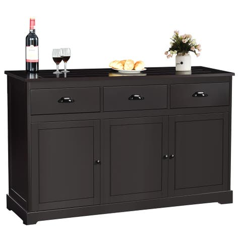Sideboard Buffet Server Storage Cabinet Console Table
