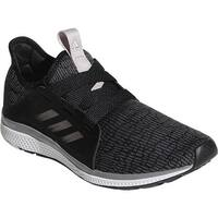 adidas Women's Edge Lux Running Shoe Black/Vapour Grey Metallic/Chalk Coral