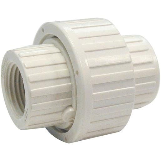 Mueller/B & K Wht 3/4 Fip Pvc Union 164-134HC Unit: EACH