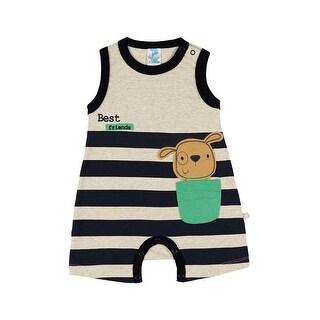 Baby Boy Bodysuit Bear Graphic Romper Pulla Bulla Sizes 3-12 Months