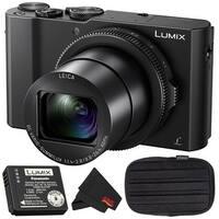 Panasonic LUMIX DMC-LX10 Optical Zoom Digital Camera Bundle (Intl Model)