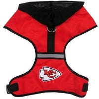 Kansas City Chiefs Pet Hoodie Harness - Medium