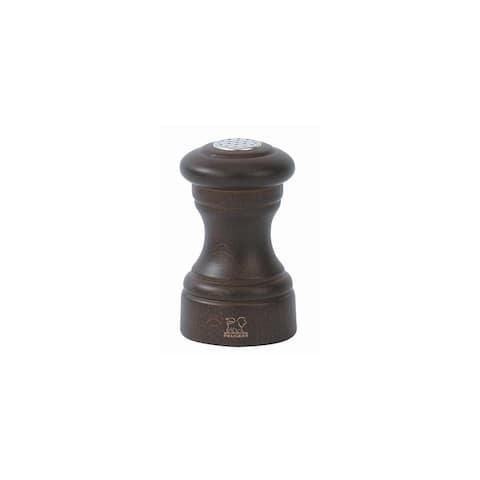 Peugeot 22587 Bistro 3-1/2-Inch Salt Shaker, Chocolate