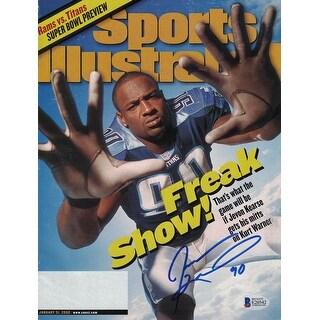 Jevon Kearse Tennessee Titans Sports Illustrated 1312000 BAS