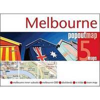 Universal Map 12757 Melbourne Popout Map
