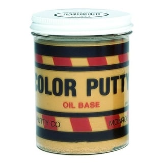 Color Putty 16106 Light Birch Oil Based Filler, 1 Lb Jar