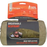 Survive Outdoors Longer Escape Bivvy OD Green - Reflective - OD Green