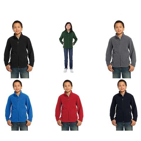 One Country United Youth Full Zip Fleece Jacket