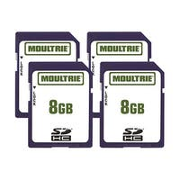 Moultrie 8GB SD Memory Card (4-Pack) 8GB SD Memory Card