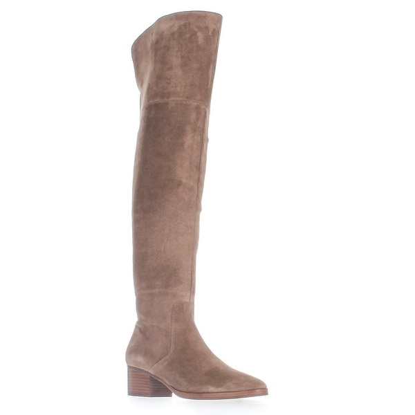 Via Spiga Ophira Over-The-Knee Boots, Dark Taupe