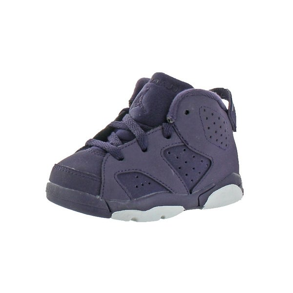 size 40 00646 936e2 Shop Jordan Girls 6 Retro Athletic Shoes Perforated Non ...
