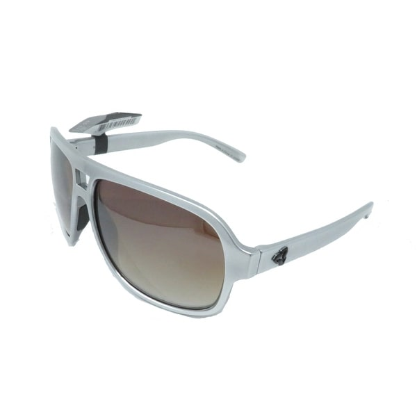Ryders Eyewear Pint Chrome with Polycarbonate Brown Lens Sunglasses