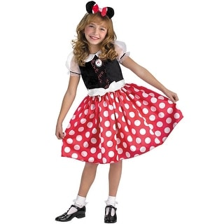 Disguise Mickey Mouse Clubhouse Minnie Mouse Classic Child Costume - Black/Red