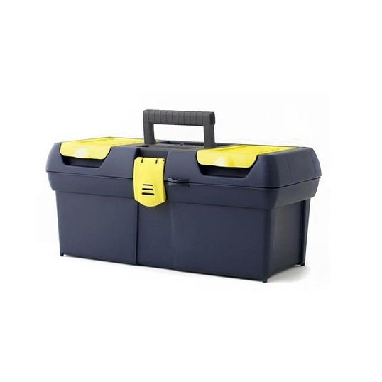 """Stanley 016011R Series 2000 Toolbox With Plastic Latch, 16"""""""