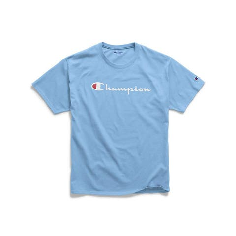 Champion Mens Classic Jersey Graphic Tee, Adult