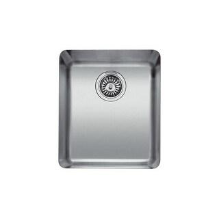 "Franke KBX-110-13 15"" Single Basin Undermount 18-Gauge Stainless Steel Bar Sink"