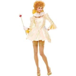Paper Magic Womens French Kiss Royal Majesty Costume Set Halloween Party - M