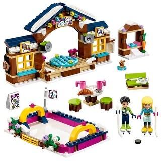 LEGO Friends Snow Resort Ice Rink 41322 Building Kit - Multi