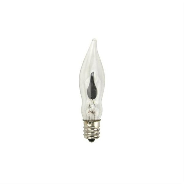 C7 Candelabra Flicker Flame Electric Candle Lamp Replacement Light Bulb