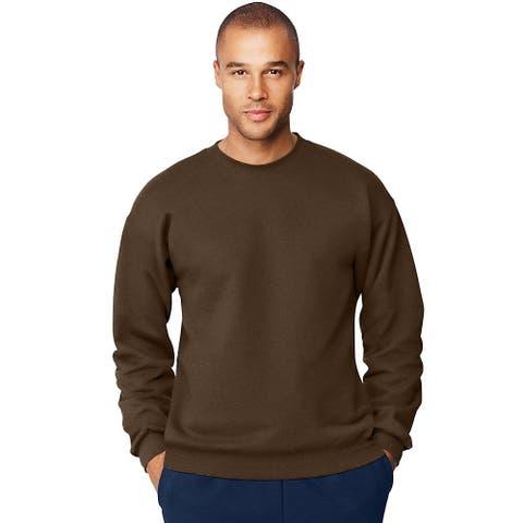 Hanes Menâs Ultimate Cotton® Heavyweight Crewneck Sweatshirt