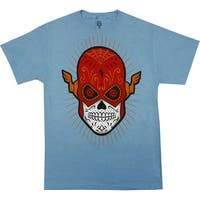 DC Comics The Flash Sugar Skull Shirt