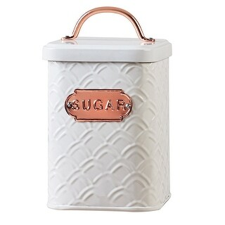 Amici Home Ventana Collection Metal Sugar Canisters