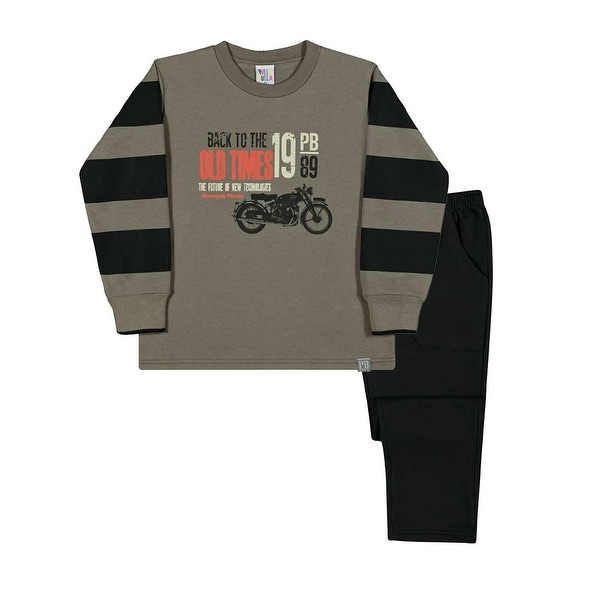 Boys Outfit Sweatshirt and Pants Kids Winter Set Pulla Bulla Sizes 2-10 Years