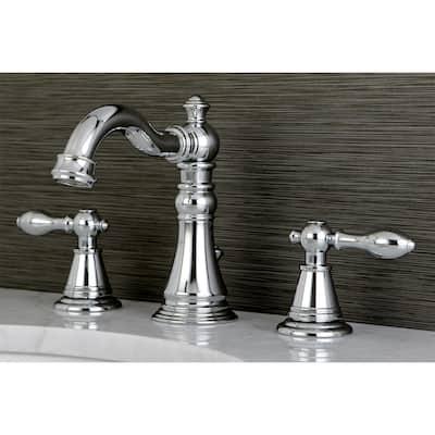 English Classic Widespread Bathroom Faucet