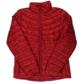 32Degrees Weatherproof Womens Quilted Down Fill Packable Coat - M