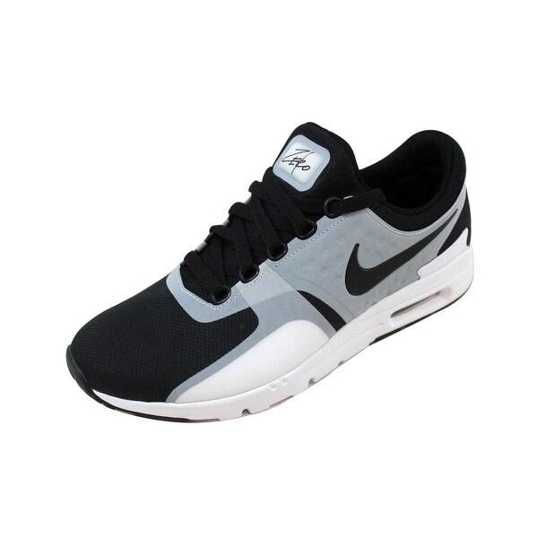 Nike Air Max Noir Cuir NIKE WMN AIR MAX ZERO BLACK WHITE