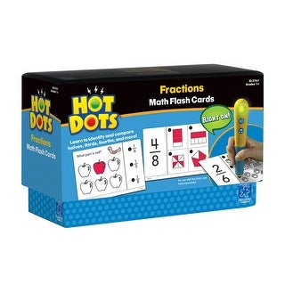 Hot Dots Flash Cards Fractions