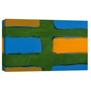 "PTM Images 9-101803  PTM Canvas Collection 8"" x 10"" - ""Color Study 3"" Giclee Abstract Art Print on Canvas"