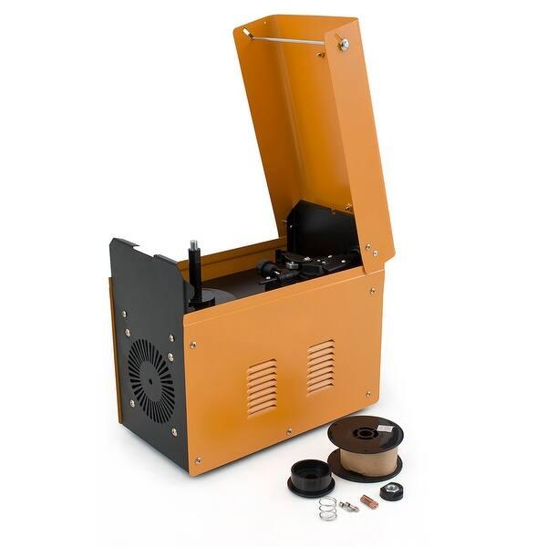 Shop Arksen MIG-130 Gas-Less Flux Core Wire Welder Welding