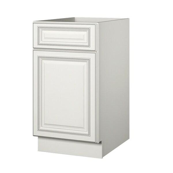 """Sunnywood Kitchen Cabinets: Shop Sunny Wood SLB18-A Sanibel 18"""" Single Door Base"""