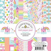 """Doodlebug Double-Sided Paper Pad 6""""X6"""" 24/Pkg-Fairy Tales"""