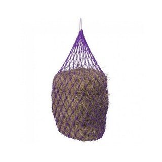 Tough-1 Hay Net Deluxe Slow Feed Half Bale Poly Cord 42""