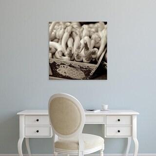 Easy Art Prints Alan Blaustein's 'Marketplace #25' Premium Canvas Art