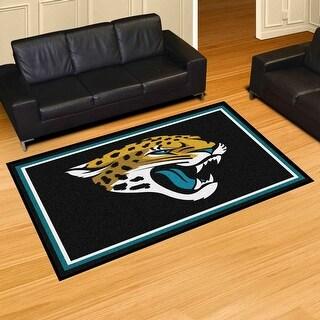NFL - Jacksonville Jaguars 5 Feet x 8 Feet Rug