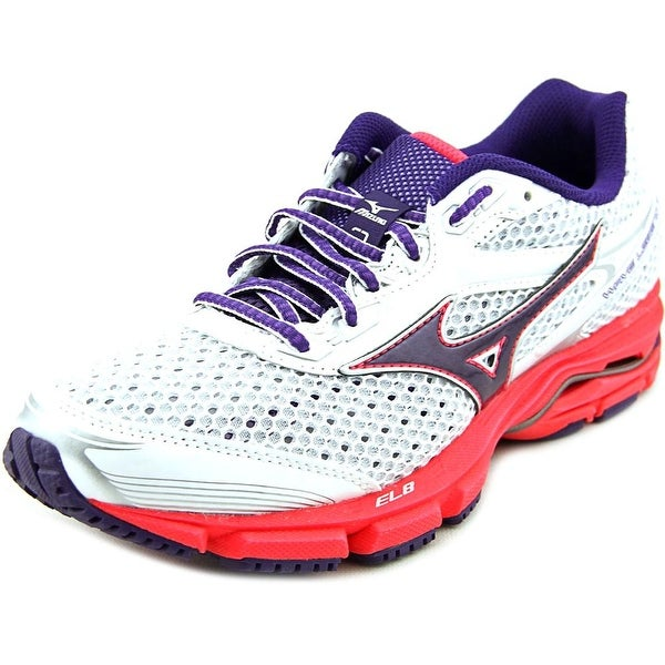 Mizuno Wave Legend 3 Women White/Purple/Pink Running Shoes