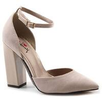 Luichiny Women's Till We Meet Natural Imi Suede